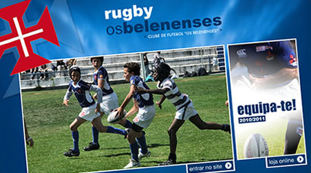 Renovação do site do Rugby do Belenenses